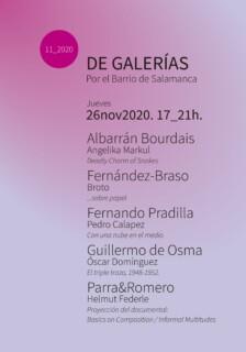 De galerías por el Barrio de Salamanca