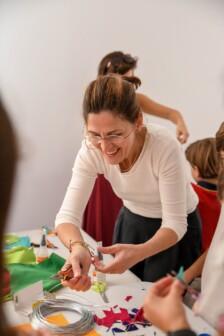 Niños por el arte: de la teoría a la práctica