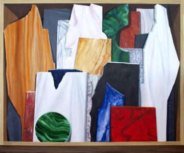 Une peintre en bâtiment